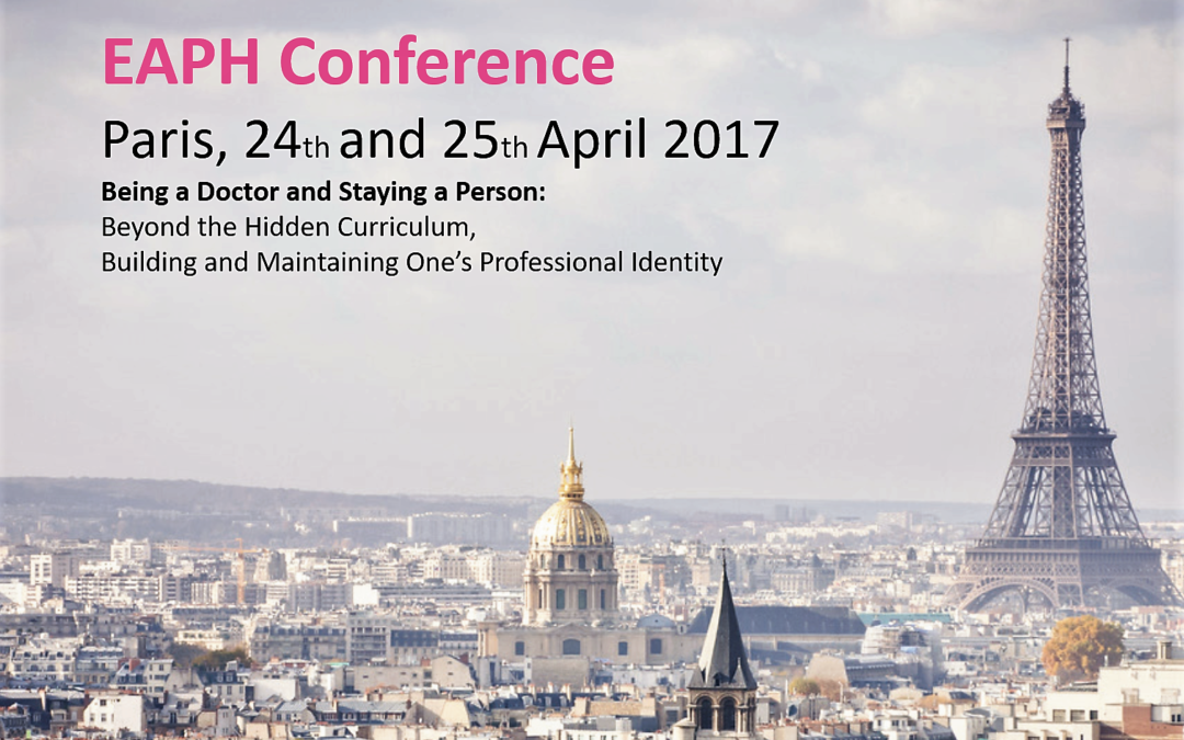 Deelname EAPH Conferentie 2017 Parijs