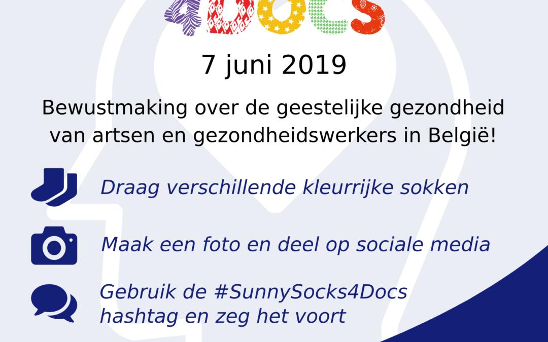 7 juni 2019: sensibilisatiedag geestelijke gezondheid van artsen en gezondheidsmedewerkers